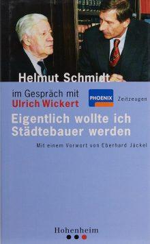 Helmut Schmidt im Gespräch mit Ulrich Wickert
